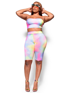 Sunset Blvd- Tie dye set - Khoris Kloset