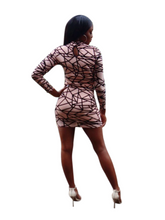 Load image into Gallery viewer, Make'em look- Bodycon dress - Khoris Kloset