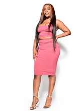 Load image into Gallery viewer, Keeping it professional-Two piece skirt set - Khoris Kloset