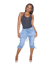 Load image into Gallery viewer, Chill Day-paperbag jeans - Khoris Kloset