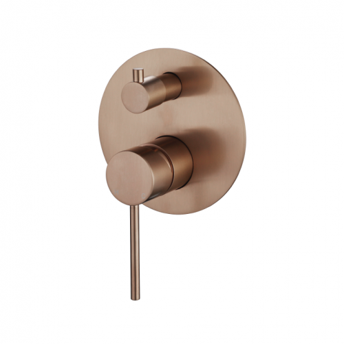 STRM009FC Star Mini Shower Divertor Flemish Copper
