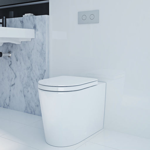 Liano Wall Faced Invisi Series II® Toilet Suite