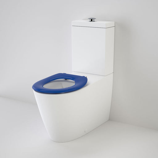 Care 800 Cleanflush® Wall Faced Toilet Suite with Single Flap Seat