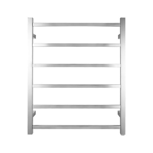Chrome 6 Bar Heated Towel Rail