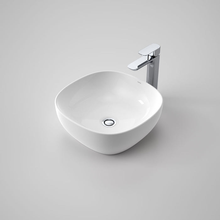 Artisan Above Counter Basin - Curved Square 400mm