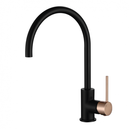 STRM004BF1 Star Mini Kitchen Mixer Matt Black & Flemish Copper