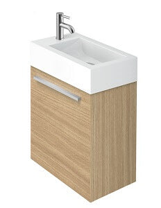 Piccolo Vanity in Light Oak