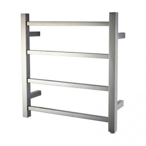 Chrome 4 Bar Heated Towel Rail