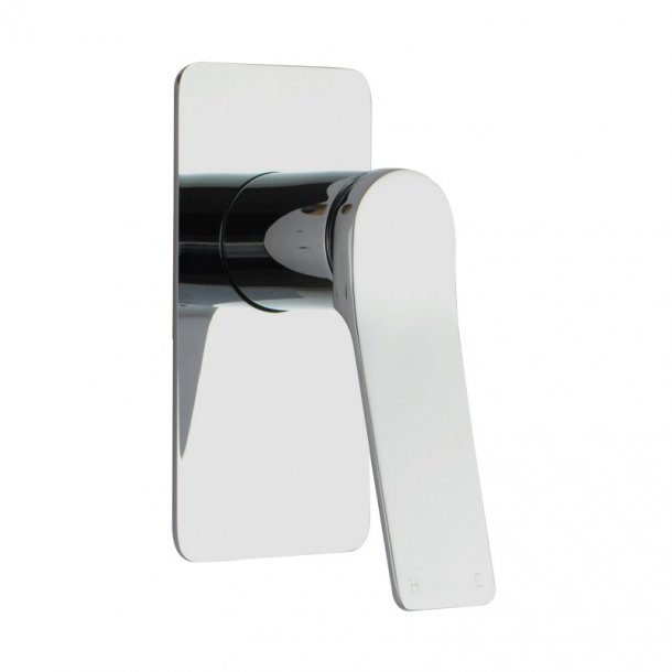 Chrome Wall Mixer With Back Plate