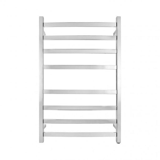 Chrome 8 Bar Heated Towel Rail