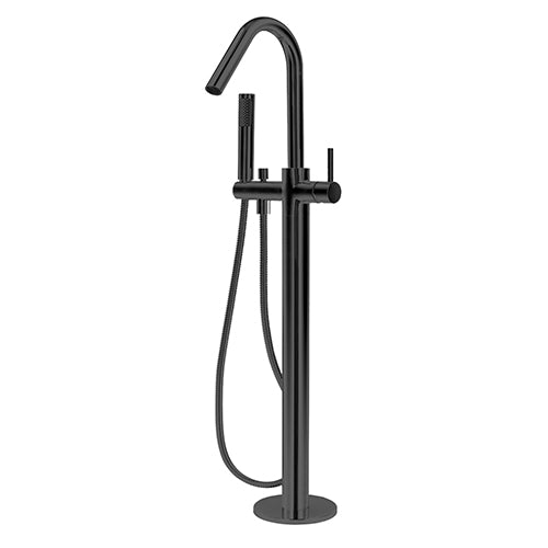 Freestanding Bath Mixer Black