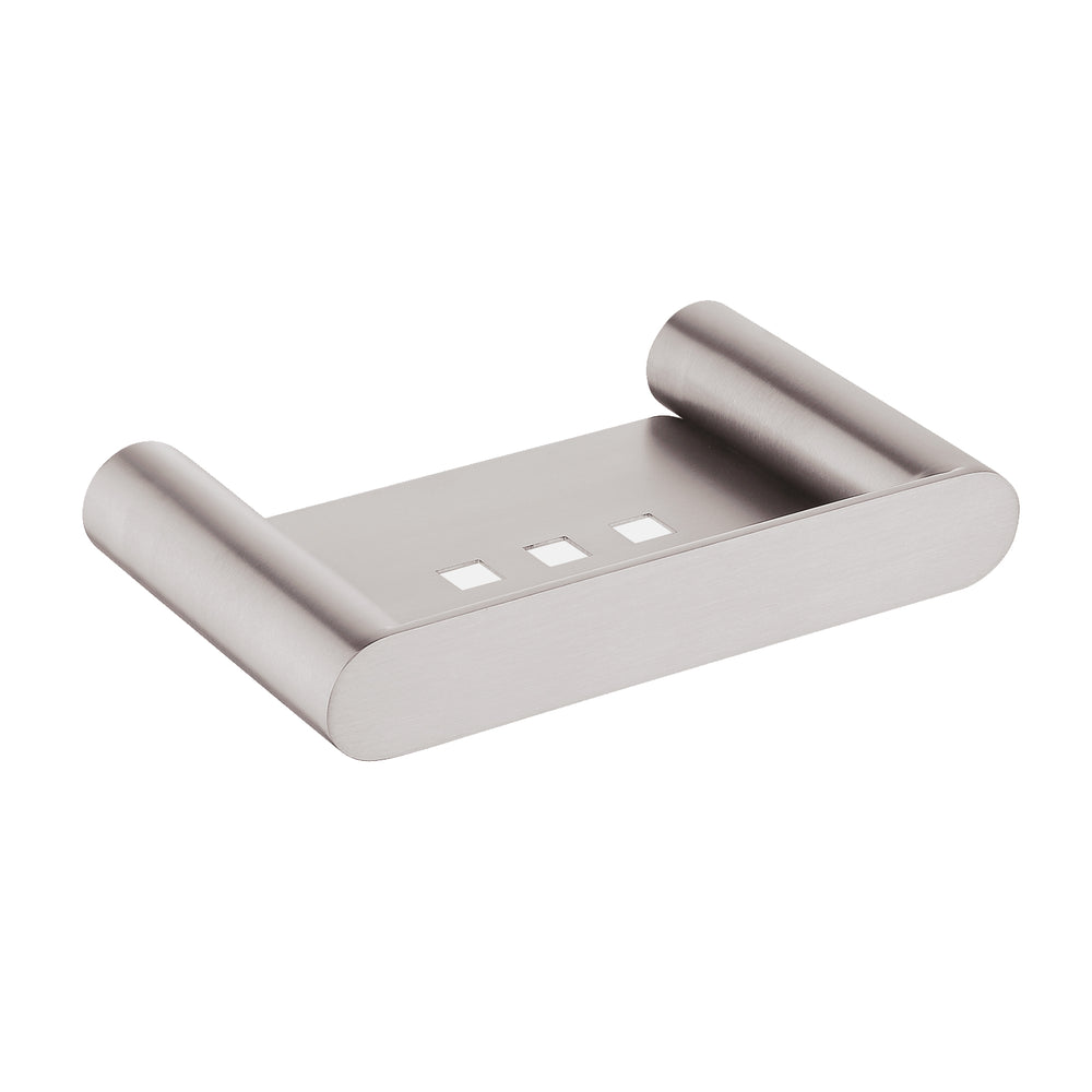Esperia Brushed Nickel Soap Dish Holder