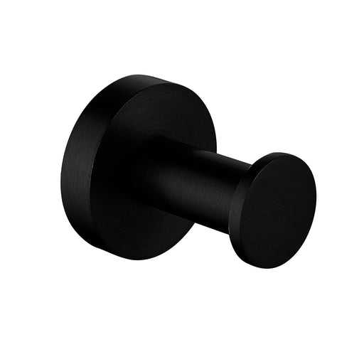 Pentro Matte Black Round Robe Hook