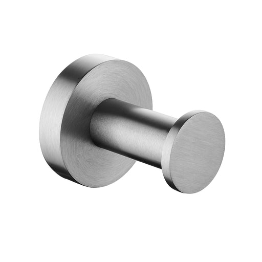 Pentro Brushed Nickel Round Robe Hook