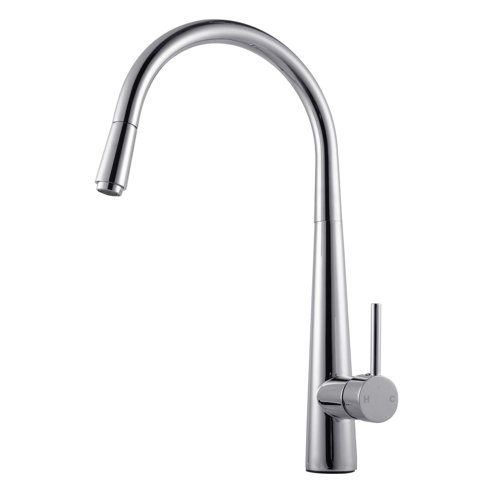 Pentro Chrome Pull Out Kitchen Mixer