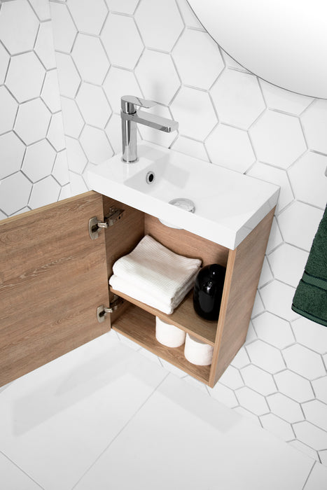 ADP Petite Small Space Vanity 400mm - 550mm