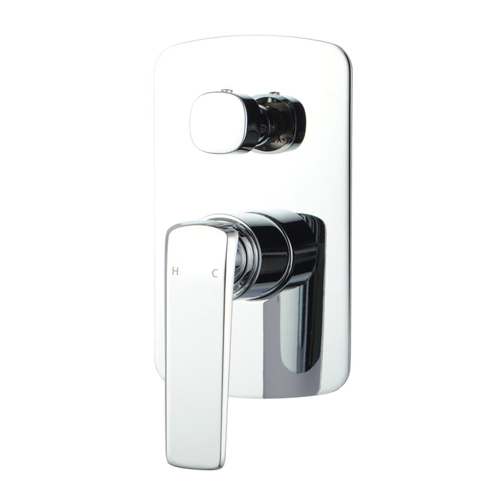 Esperia Chrome Wall Mixer with Diverter