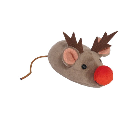 Plush Reindeer Mouse