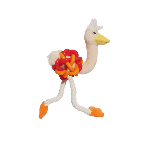Jolly Doggy Play-Plus Ostrich