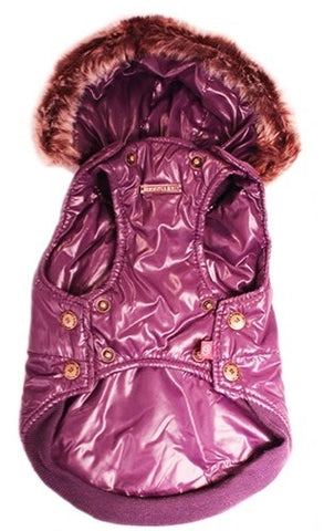Dog's Life - Royal Parka Jacket With Hood - Purple