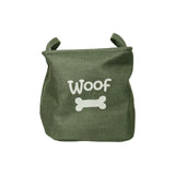 Forest Canvas Pet Toy Basket