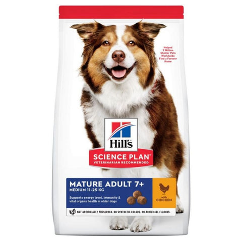 Hill's Science Plan Chicken Medium Adult 7+ Dog Food