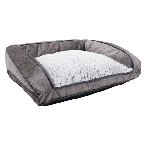 Luxury Fleece Lined Plush Sofa MD 74cm