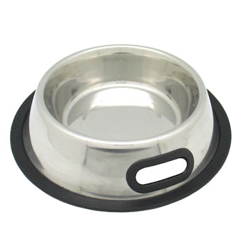 Bowl, S/Steel Anti Skid with Handle  Bowl, S/Steel Anti Skid with Handle