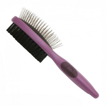 Salon Grooming Double Sided Brush for Pets