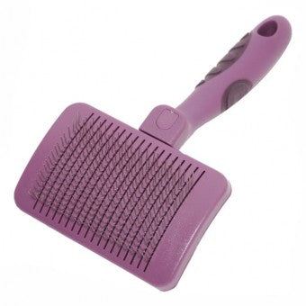 Brush Slicker, Curved with Ball Pins