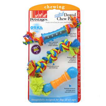 Mini Dental Chew Pack Toys for Small Dogs