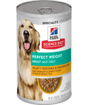Hill's Perfect Weight Chicken & Vegetables Canned Dog Food