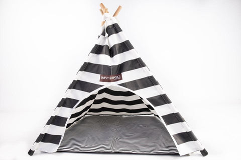 Small doggy and cat teepee with cushion