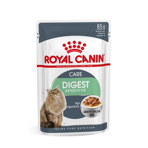 Royal Canin Wet Digest Sensitive Cat Food Pouch