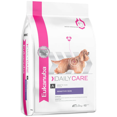 Eukanuba Daily Care Sensitive Skin Adult Dog Food