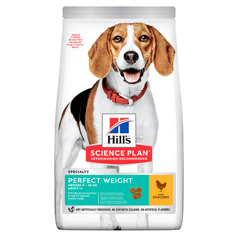 Hill's Perfect Weight Medium Adult Dog Food