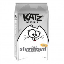 Katz Menu Sterilised Cat Food
