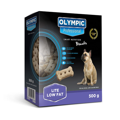Olympic Professional Lite Low Fat Dog Biscuits 500g