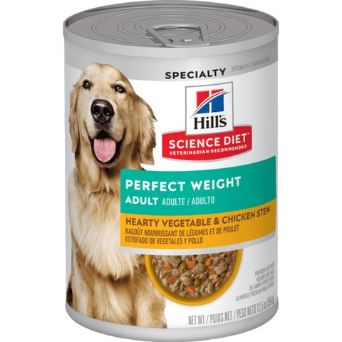 Hill's Perfect Weight Vegetable & Chicken Stew Canned Dog Food