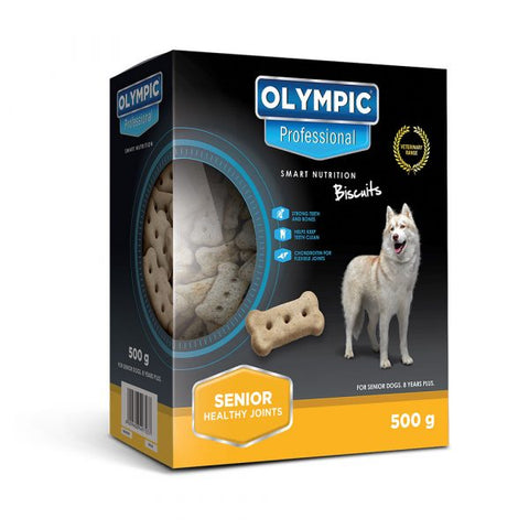 Olympic Professional Senior Dog Biscuits 500g