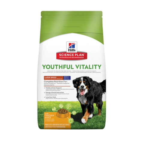 Hills Science Diet Youthful Vitality  Canine Large Breed 10kg