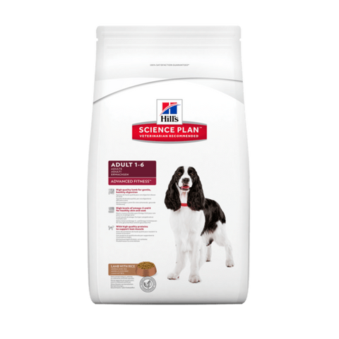 Hill's Advanced Fitness Lamb & Rice Medium Adult Dog Food