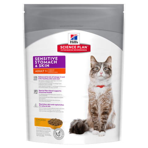 Hill's Science Plan Sensitive Stomach & Skin Adult Cat Food