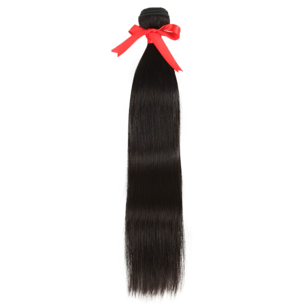 natural straight human hair bundle wave
