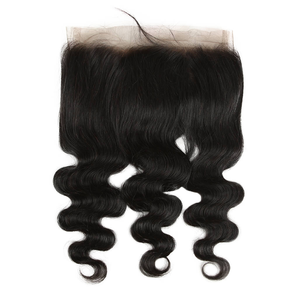 human hair body wave 360 lace forntal