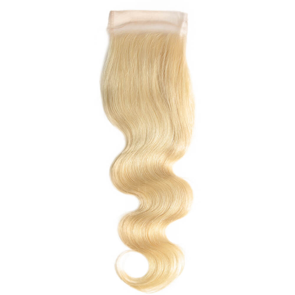 body wave human hair 4*4 lace closure