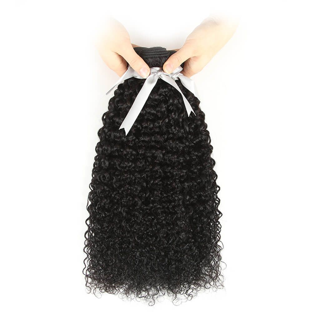 Queen Remy 3 Bundles Jerry Curl