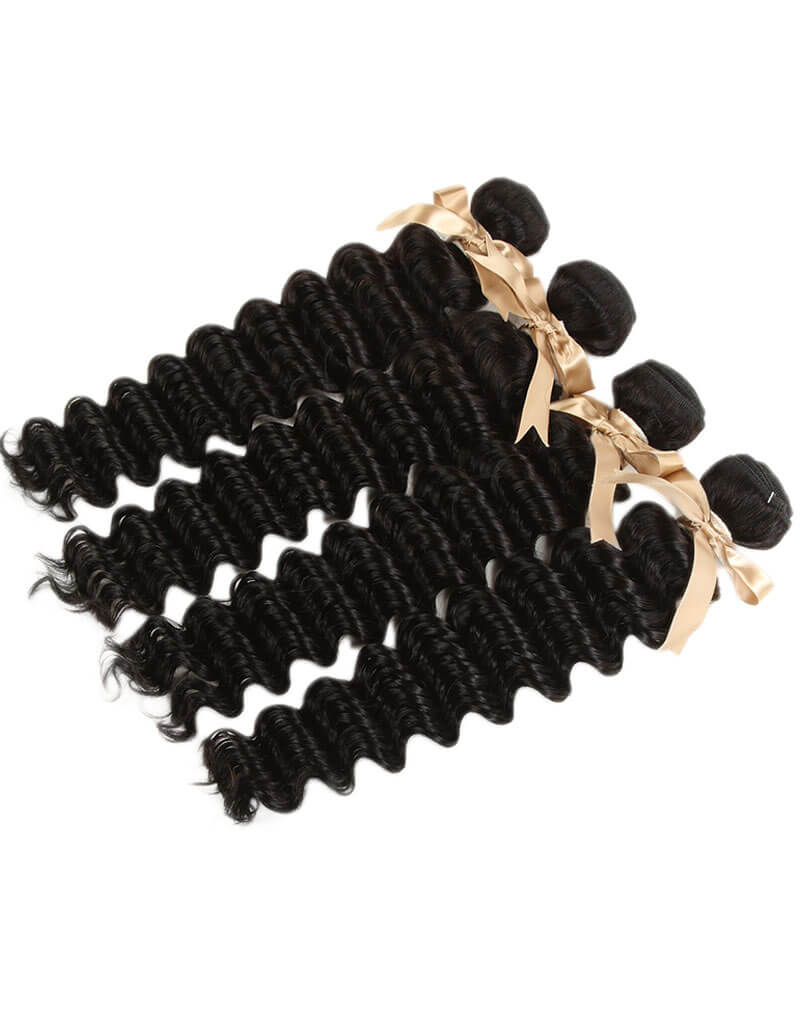 Queen Remy 4 Bundles Deep Wave