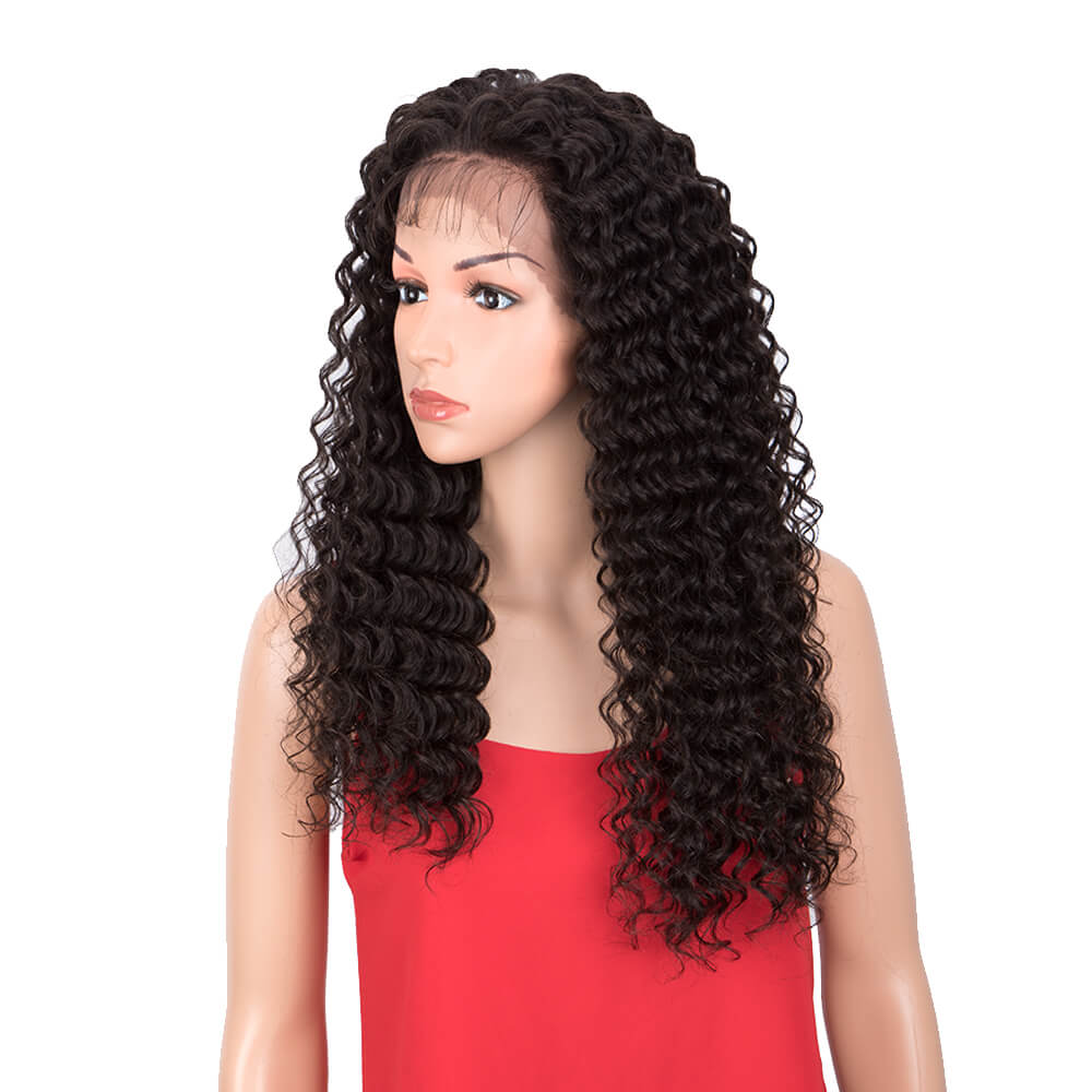 13*4 Lace Front Deep Wave Wig