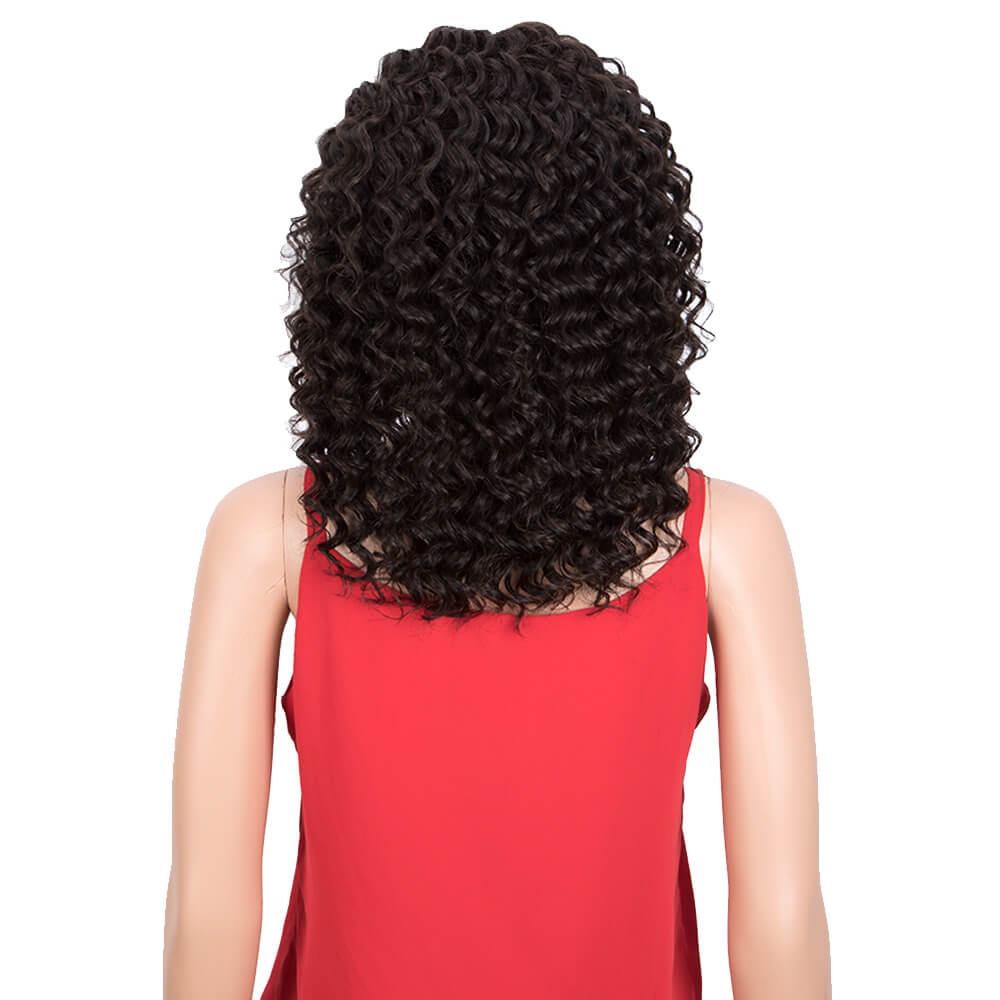 Human Hair Part Lace Deep Wave Wig